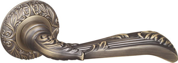 Ручка раздельная BOHEMIA SM MAB-6 темная бронза