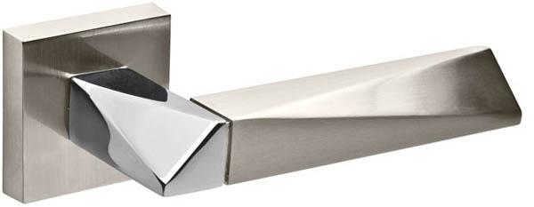Ручка раздельная DIAMOND DM SN/CP-3 матовый никель/хром